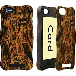 Cell Armor Hybrid Protective Case Cover Apple iPhone 5C Icardie (Hunter Series New Shedder Grass) - IPHONE5C-ICARD-WFL03 found on Bargain Bro India from Unlimited Cellular for $7.19