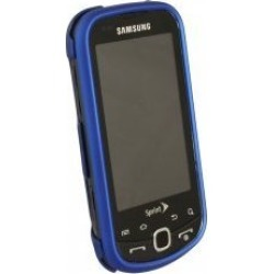 Samsung M910 Intercept Rubberized Snap-On Case (Dark Blue) found on Bargain Bro India from Unlimited Cellular for $5.99
