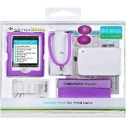 Simplism Japan Starter Pack for Apple iPod nano 7 (Purple) - TR-SPNN12-PP/EN