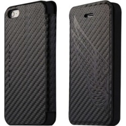 ITSKINS Angel Folio for Apple iPhone 5/5S - Black/Carbon Wing found on Bargain Bro India from Unlimited Cellular for $17.69