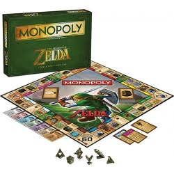 Toy - Board Game - The Legend of Zelda - Monopoly
