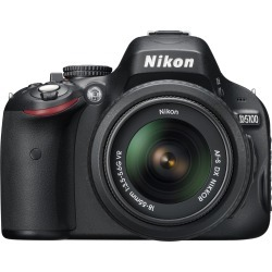 "Nikon D5100 16.2MP Digital SLR Camera (Body with Lens Kit) 3"" LCD - 3.1x Optical Zoom - 25478"