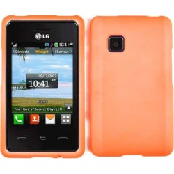 Unlimited Cellular Snap-On Case for LG 840G (Fluorescent Pearl Orange) found on Bargain Bro India from Unlimited Cellular for $5.99