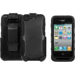 Seidio CONVERT Plus Case and Holster Combo for Apple iPhone 4/4S - Black