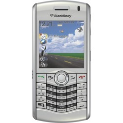 Silver - BlackBerry 8130 Pearl Cell Phone, Bluetooth, Camera, for Verizon