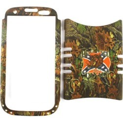 Rocker Snap-On Case for Samsung Galaxy S3 -Hunter Series w/ Wild Hog on Rebel Flag found on Bargain Bro from Unlimited Cellular for USD $4.55