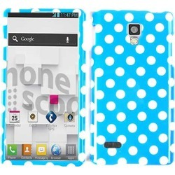 Unlimited Cellular Snap-On Case for LG Optimus L9 P769 (White Dots on Blue) found on Bargain Bro Philippines from Unlimited Cellular for $5.99