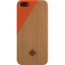 Native Union - CLIC Wooden Case for Apple iPhone 5s/5 - Orange found on Bargain Bro India from Unlimited Cellular for $32.29
