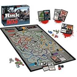 Toy - Board Game - The Walking Dead - Risk