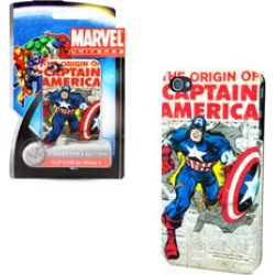 PDP - Captain America Newspaper Case for iPhone 4