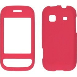 WIRELESS SOLUTIONS Soft Touch Snap-OnCase.  Dark Red.