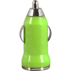 WireX USB Car Charger (Green)