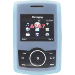Wireless Solutions Silicone Gel Case for Samsung SGH-A767 Propel, Blue