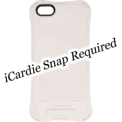 iCardie TPU Skin Protector Case for Apple iPhone 5C (White)