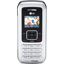 Silver - LG VX9900 enV Cell Phone, 2 MP Camera, Bluetooth, QWERTY keyboard, for Verizon