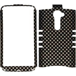 Unlimited Cellular Rocker Snap-On Case for LG G2 Verizon VS980i (3D Embossed Black/White Checkers) found on Bargain Bro India from Unlimited Cellular for $5.99