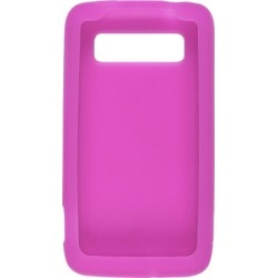 Wireless Solutions Silicone Gel Case for HTC Trophy - Pink