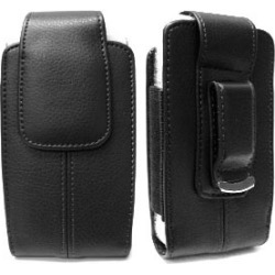 Cell Armor Vertical Leather Pouch. BK for OtterBox