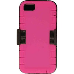 Cell Armor 2 In 1 Novelty Case With Holster For IPhone 5s/5 (Magenta/Black) - IPHONE5S-NOV-F15-MAG