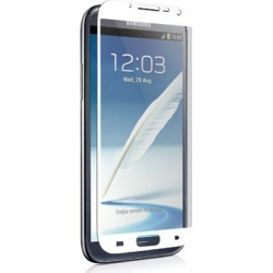 Unlimited Cellular Nitro Glass Screen Protector for Samsung Galaxy Note 2 (White)