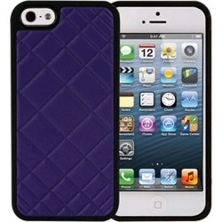 Xentris Wireless Hard Shell for Apple iPhone 5/5S - Violet Blue Quilt found on Bargain Bro India from Unlimited Cellular for $24.99