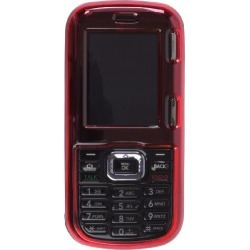 Snap On Clip Case for LG LX265 Rumor2, AX265 - Red