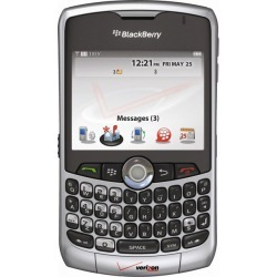 Silver BlackBerry Curve 8330 PDA Cell Phone, Bluetooth, Camera, for Verizon