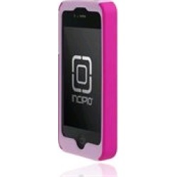 Incipio Silicrylic Hard Shell Case for Apple iPhone 4G/4S - Light Pink / Pink