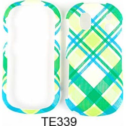 Unlimited Cellular Snap-On Case for Samsung Intensity 2 U460 (Green and Blue Plaid found on Bargain Bro from Unlimited Cellular for USD $4.55