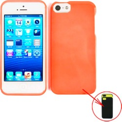 Cell Armor Snap-On Case for Apple iPhone 5/5S - Pearl Orange