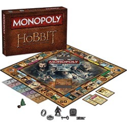 Toy - Board Game - The Hobbit Trilogy - Monopoly