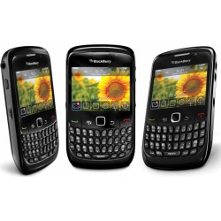Black - BlackBerry Curve 8520 Quad-Band GSM World Cell Phone, 2 MP Camera, Bluetooth, Wi-Fi - Unlocked