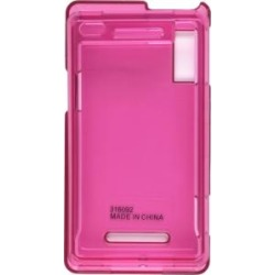 Wireless Solutions Back Snap On Case for Motorola A854 Milestone and A855 Droid - Pink