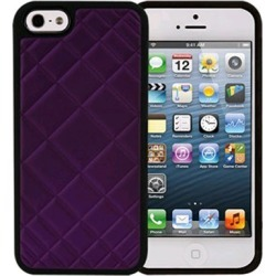 Xentris Wireless Hard Shell for Apple iPhone 5/5S - Purple Quilt found on Bargain Bro India from Unlimited Cellular for $24.99