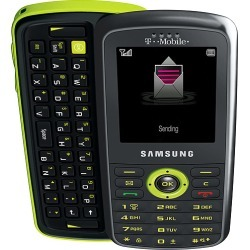 Gray - Samsung Gravity T459 Cell Phone, QWERTY keyboard, MP3, Stereo Bluetooth, Speaker, GSM World Phone, for T-Mobile