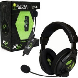 Turtle Beach - Ear Force X12 USB Amplified Stereo Gaming Headset with Mic for - Xbox 360