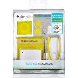 Simplism Japan Starter Pack for Apple iPod Shuffle 4 (Yellow) - TR-SPSF12-YL/EN