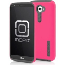 Incipio Dualpro Hard Shell Case with Silicone Core for LG G2 (Cherry Blossom Pink/Charcoal Gray) found on Bargain Bro Philippines from Unlimited Cellular for $24.39
