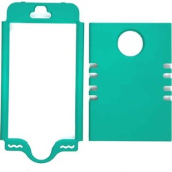Unlimited Cellular Rocker Series Snap-On Cover for Apple iPhone 5S (Rubberized Emerald Green)