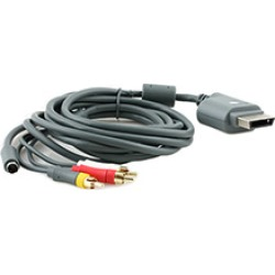 Xbox 360 - Cable - S Video/AV Cable - Bulk New (Microsoft)