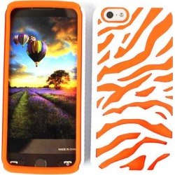 Unlimited Cellular Novelty Case for Apple iPhone 5/5S (Orange Zebra on White) found on Bargain Bro from Unlimited Cellular for USD $4.55
