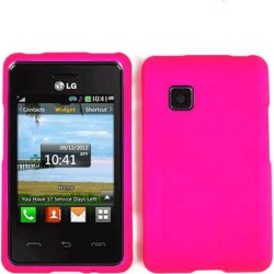 Unlimited Cellular Snap-On Case for LG 840G (Fluorescent Dark Hot Pink) found on Bargain Bro India from Unlimited Cellular for $5.99