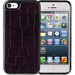Xentris Wireless Hard Shell for Apple iPhone 5/5S - Purple Alligator found on Bargain Bro India from Unlimited Cellular for $29.99