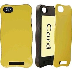 Cell Armor Hybrid Protective Case Cover Apple iPhone 5C (Icardie Honey Bright Yellow) - IPHONE5C-ICARD-A016-IB found on Bargain Bro India from Unlimited Cellular for $7.19