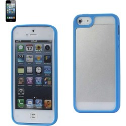 Reiko - PC/TPU Protector Cover for Apple iPhone 5 - Navy found on Bargain Bro India from Unlimited Cellular for $6.19