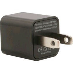 WireX Cube USB Wall Charger (Black)