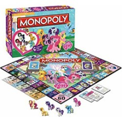 Toy - Board Game - My Little Pony - Monopoly