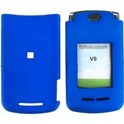 Snap On Case for Motorola Razr2  V8/V9m - Dark Blue