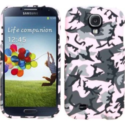 Unlimited Cellular Snap-On Case for Samsung Galaxy S4 (Random Shapes on Pink)