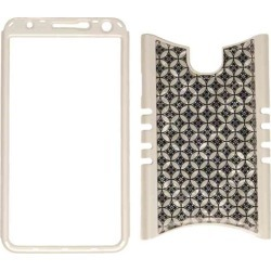 Rocker Series Snap-On Protector Case for Samsung Galaxy Note 3 (Black and White Seamless Pattern) found on Bargain Bro Philippines from Unlimited Cellular for $7.29